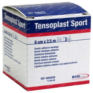 Tensoplast Sport 6cm x 2.5m 1 St