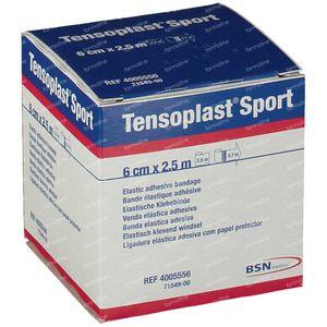 Tensoplast Sport 6cm x 2.5m 1 stuk