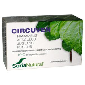 Soria Natural 19-C Circuven 60 capsules