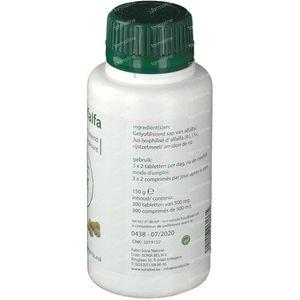Soria Natural Verde De Alfalfa Complex 300 comprimés