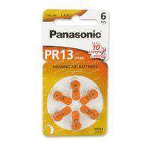 Panasonic Batterij Oorapparaat Oranje Pr 13H 6 st