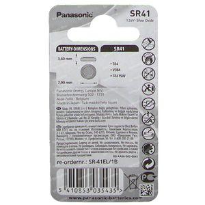 Panasonic Batterie Sr 41W 1 pièce