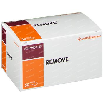 Remove wipes 50 st