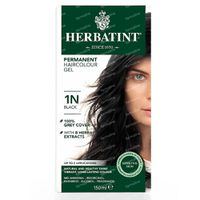 Herbatint Colorant Cheveux Permanente Noir 1N 150 ml