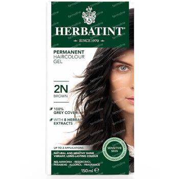 Herbatint Colorant Cheveux Permanente Brun 2N 150 ml