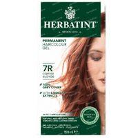 Herbatint Permanente Haarkleuring Koper Blond 7R 150 ml