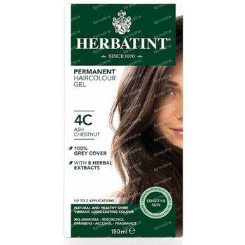 Herbatint Colorant Cheveux Permanente Chatain Cendre 4C 135 ml