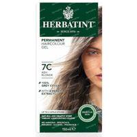 Herbatint Permanente Haarfärbung Asche Blonde 7C 150 ml