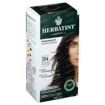 Herbatint Colorant Cheveux Permanente Chatain Foncé 3N 150 ml