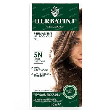 Herbatint Soin Colorant Permanent Chatain Clair 5N 150 ml