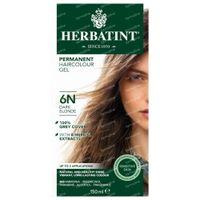Herbatint 6N Donkerblond –100% Biologische, Permanente Vegan Haarkleuring – met 8 Plantenextracten 150 ml