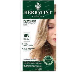 Herbatint Colorant Cheveux Permanente Blond Clair 8N 150 ml