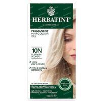 Herbatint Colorant Cheveux Permanente Blond Platine 10N 150 ml