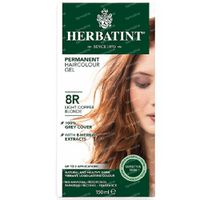 Herbatint Colorant Cheveux Permanente Blond Clair Cuivre 8R 150 ml