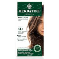 Herbatint Soin Colorant Permanent Chatain Clair Dore 5D 150 ml