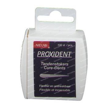 Proxident Cure-dents En Plastique 100 pièces
