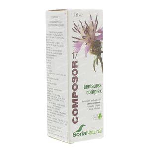 Soria Natural Composor 17 Centaurea/ Glucosor 50 ml
