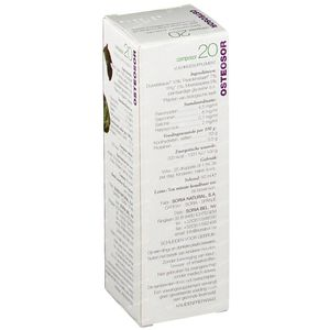 Soria Natural Composor 20 Osteosor 50 ml