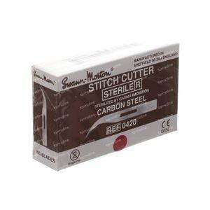 Wolf Stitch Cutter Court 100 pièces
