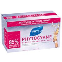 Phyto Phytocyane Anti-Haaruitval Serum 12x7,5 ml