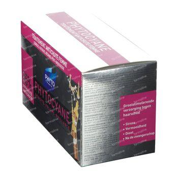 Phyto Phytocyane Soin Antichute Stimulateur De Croissance 12x7,5 ml