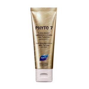 Phyto 7 C rema Da Giorno Idratazione Luminosità Alle 7 Piante Capelli Secchi 50 ml