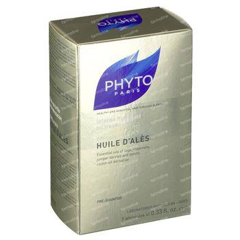 Phyto Huile d'Ales Huile Cheveux Secs 5x10 ampoules