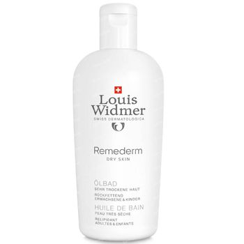 Louis Widmer Remederm Badolie Licht Geparfumeerd 250 ml