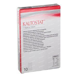 Kaltostat Pansement Sterile 7.5cm x 12cm 10 pièce