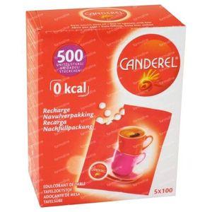 Canderel Navulling 500 St Tabletten