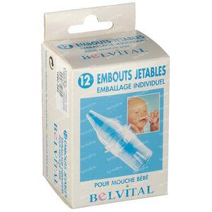 Belvital Embout Nasal 12 pièces