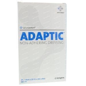 Adaptic 7.5cm x 20cm Non Collante 24 pièces