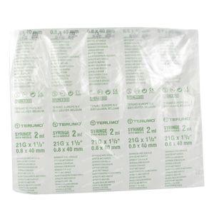 Terumo Disposable Syringe 2ml With Needle 21g 1/2 10 St