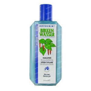 Novocrin Birkenwasser Lotion Cheveux Gris 250 ml