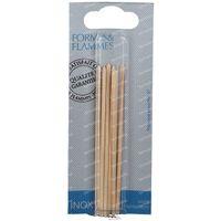Formes & Flammes Cuticle Pusher Wood 67 6 st