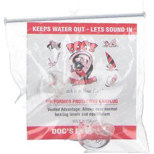 Doc'S Proplug Dop Perforated Xs 2 1 item