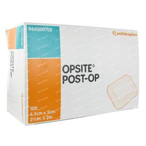Opsite Post-Op 6.5 x 5cm 66000708 100 stuks
