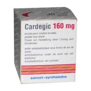 Cardegic 160mg 30 zakjes