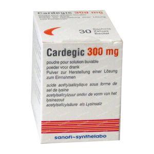 Cardegic 300mg 30 zakjes