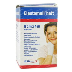 Elastomull Haft Benda Elastia Coesiva 8cmx4m 1 pezzo