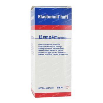 Elastomull Haft Bande Fixation Elastique Cello 12cm x 4m 1 st