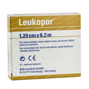 Leukopor Roller 9,2m x1,25Cm 1 item