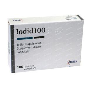 Iodid 100 comprimés