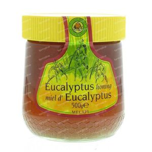 Melapi Honing Eucalyptus Vast 500 g