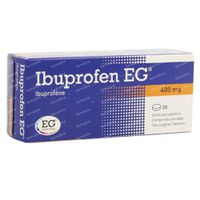Ibuprofen EG 400mg 30  tabletten