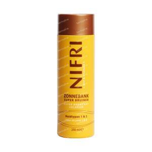 Nifri Sunbed Super Bronzer Skin Types 1 & 2 250 ml