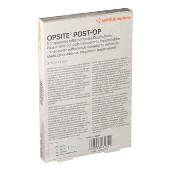 Opsite Post-Op 9.5 x 8.5cm 66030314 5 st