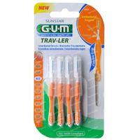 GUM Trav-Ler 0,9mm 4 stuks