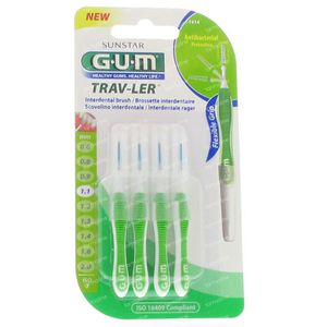 Gum Trav-Ler Interdent 1.1mm 4 St