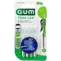 GUM Trav-Ler 1,1mm 4 st